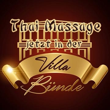 Thai Massage in der Villa Bünde